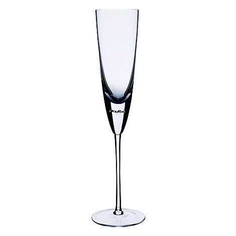 Betty Jackson.Black - Blue +Bubble+ champagne flute