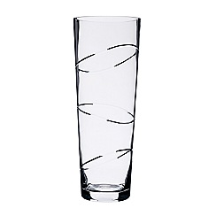 Debenhams - Circle etched tall vase