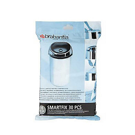 Brabantia - Thirty 50 litre perfectfit bin liners size H