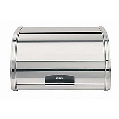 Brabantia - Brilliant steel medium roll top bread bin