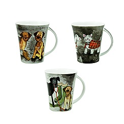 Queens by Churchill - Alex Clarke dogs mug