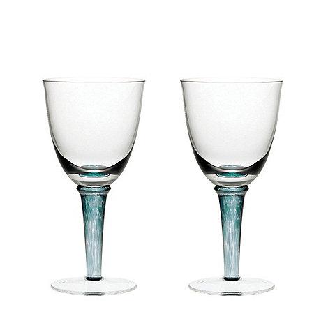 Denby - Set of 2 +Greenwich/Regency+ white wine glasses