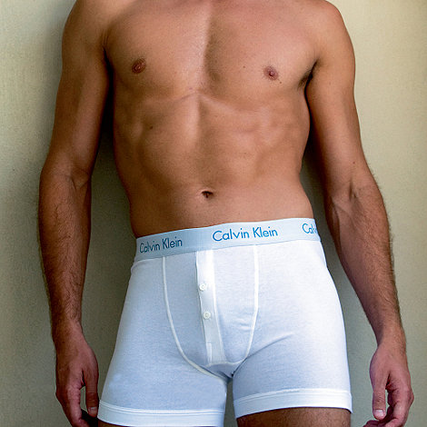 Calvin Klein Underwear - White flexible fit boxers