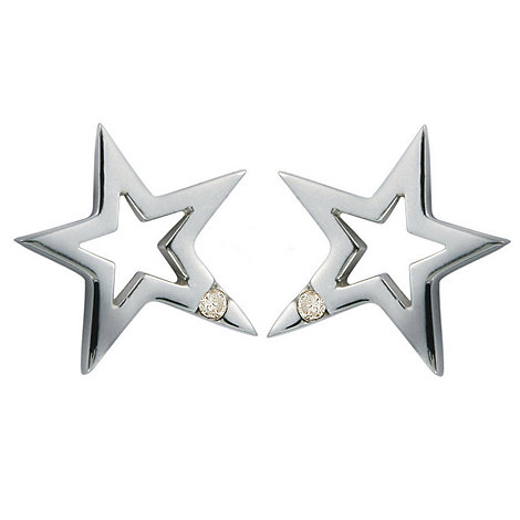 Hot Diamonds - Silver +distinctive+ silver earrings