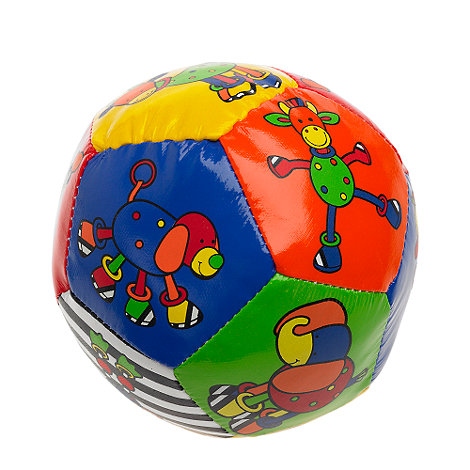 Jellycat - Babies multi hoopy loopy boing ball