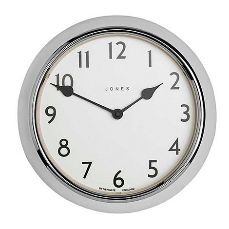 Jones - Chrome ambassador wall clock