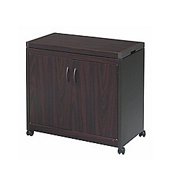 Hostess - Mahogany hostess trolley HL6232DB
