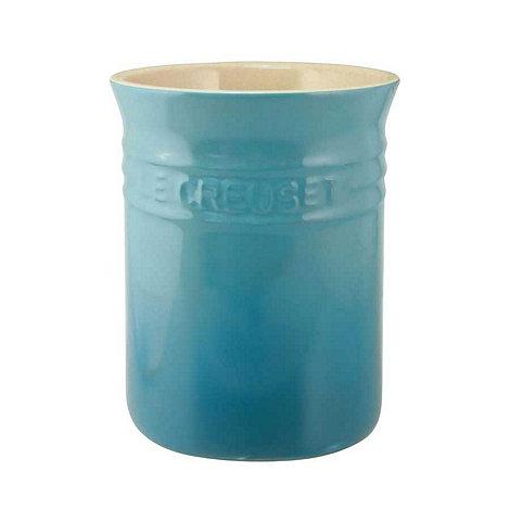 Le Creuset - Stoneware +Teal+ utensil jar