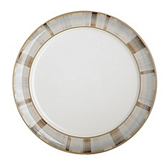 Denby - Truffle layers wide rimmed dessert plate