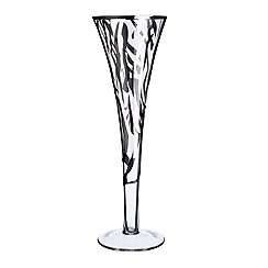 Star by Julien Macdonald - Zebra print champagne flute