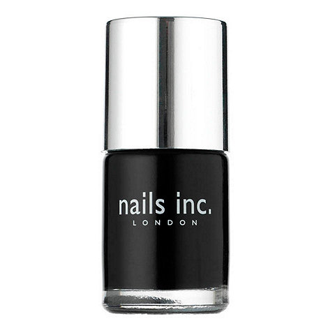Nails Inc. - Black Taxi nail polish 10ml