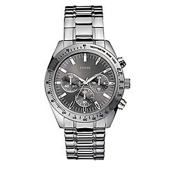Guess - Men's grey chronograph dial with bracelet watch