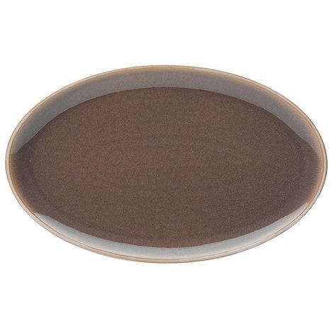 Denby - Mushroom and cream +Truffle Layers+ serving platter