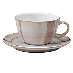 Denby - Truffle layers wide rimmed tea saucer