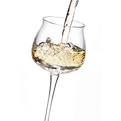 Denby - Oyster White wine glasses