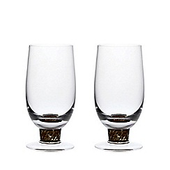 Denby - Set of 2 'Jet' tumblers