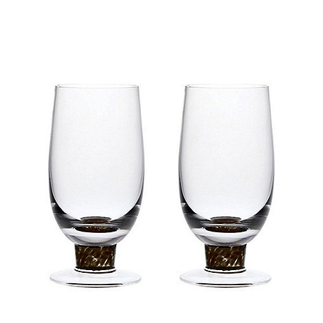 Denby - Set of 2 +Jet+ tumblers