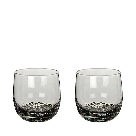 Denby - Set of 2 +Jet+ small tumblers