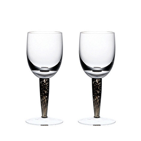 Denby - Jet set of 2 red wine glasses