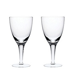 Denby - Set of 2 white wine glasses