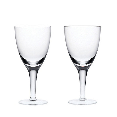 Denby - China White wine glasses