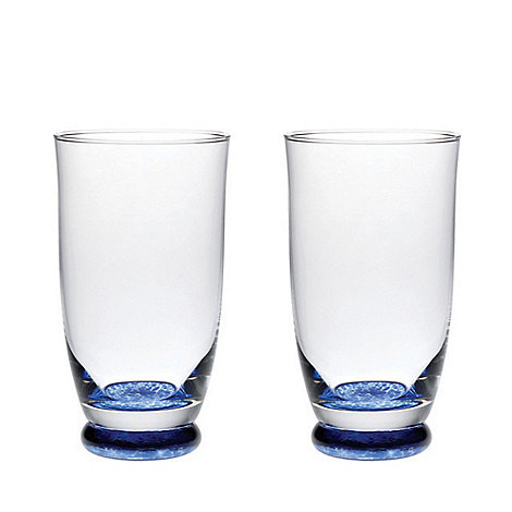 Denby - Set of 2 +Imperial Blue+ tumblers