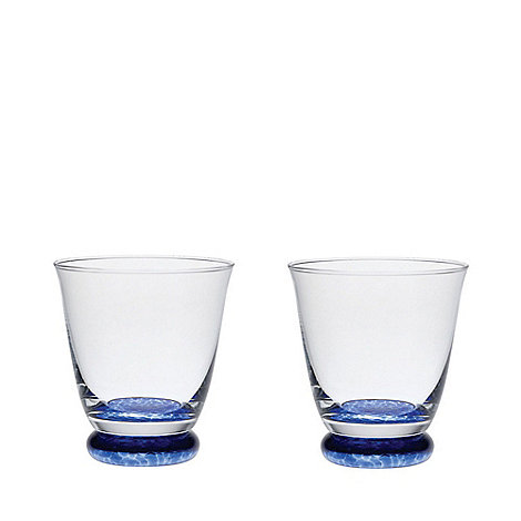 Denby - Set of 2 +Imperial Blue+ small tumblers