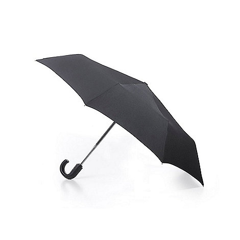 Fulton - Black umbrella with hook handle