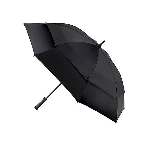 Fulton - Black storm shield umbrella