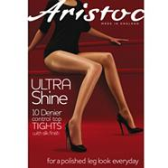 Ultra shine 10D sheer control top tights