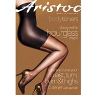 10d sheer hour glass toner tights