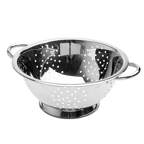 Debenhams - Stainless steel shallow colander
