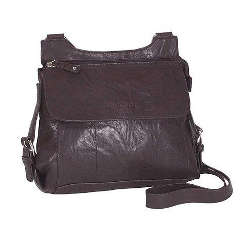 Kangol - Chocolate across body bag