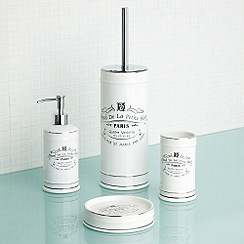 Home Collection - White Paris bathroom accessories