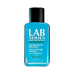 LAB Series - Electric shave solution
