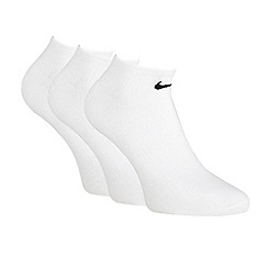 Nike - Nike pack of three white 'Sport Quarter' trainer socks