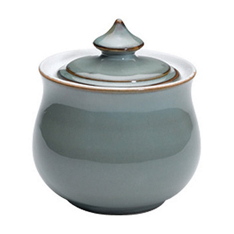 Denby - Regency green covered sugar bowl