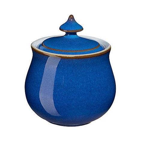 Denby - Imperial blue covered sugar bowl