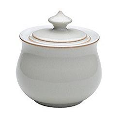 Denby - Linen covered sugar bowl