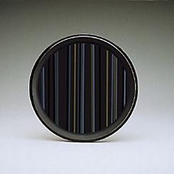 Denby - Jet striped round platter