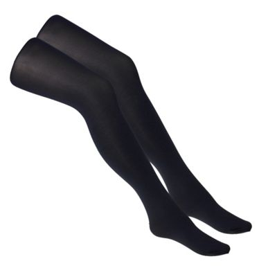 Pack of two 60D opaque tights