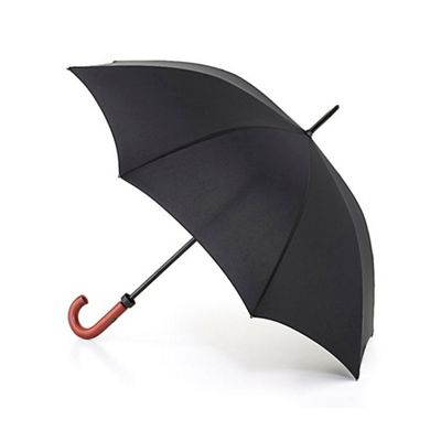 Black Brolly with wooden handle