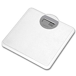 Salter - White electronic bathroom scale
