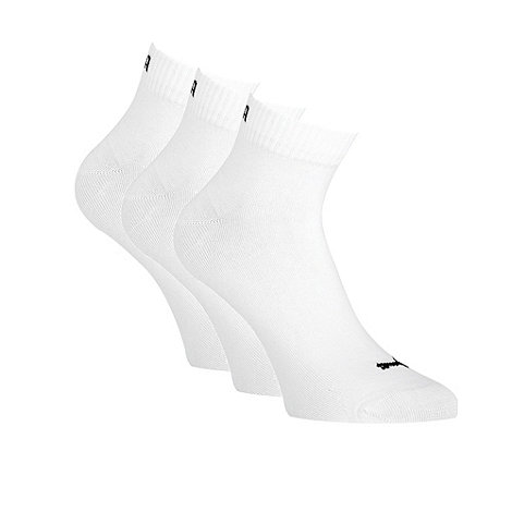 Puma - Pack of three training quarter socks