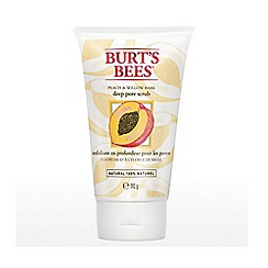 Burt's bees - Peach & Willowbark Deep Pore Scrub 110g