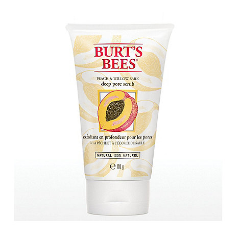Burt+s bees - +Peach and Willow Bark+ scrub 110g