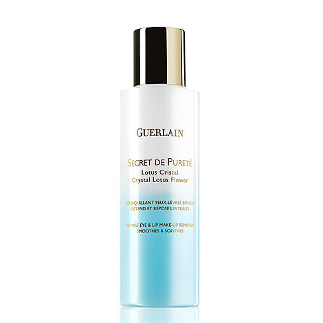 Guerlain - Secret de Puret + eye and lip make up remover 125ml