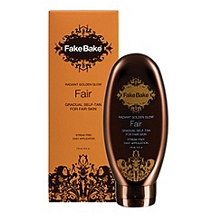 Fake Bake - Radiant Golden Glow Lotion - Fair 170ml