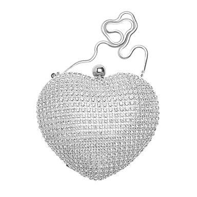 Silver coloured crystal heart menadiere - Accessories - Womens - Julien Macdonald - Designers - Debenhams