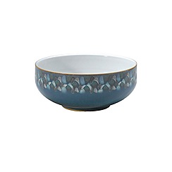 Denby - Azure shell cereal bowl